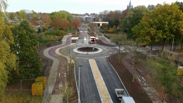Verkeerskundig ontwerp rotonde – gemeente Oisterwijk